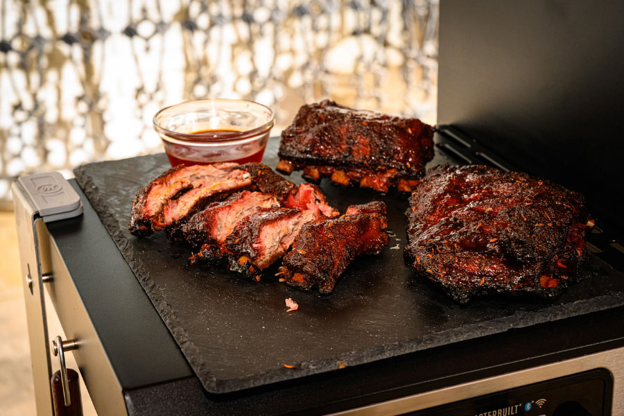 Cherry-Glazed Baby Back Ribs