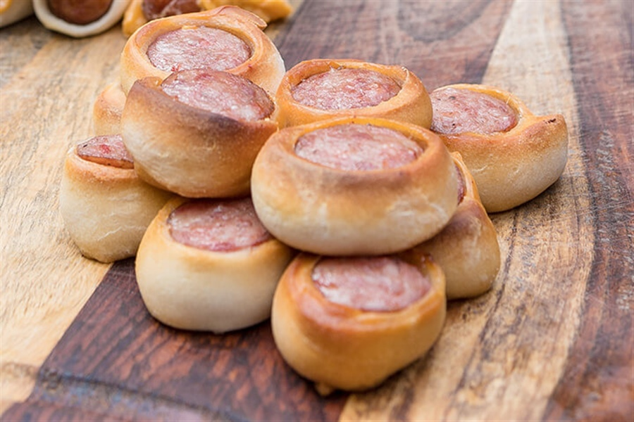 Smoked Grown-Up Pigs in a Blanket