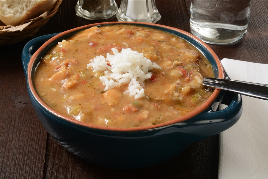 Smoked Turkey and Sausage Gumbo